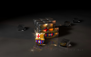 Wallpaper Barca 2012