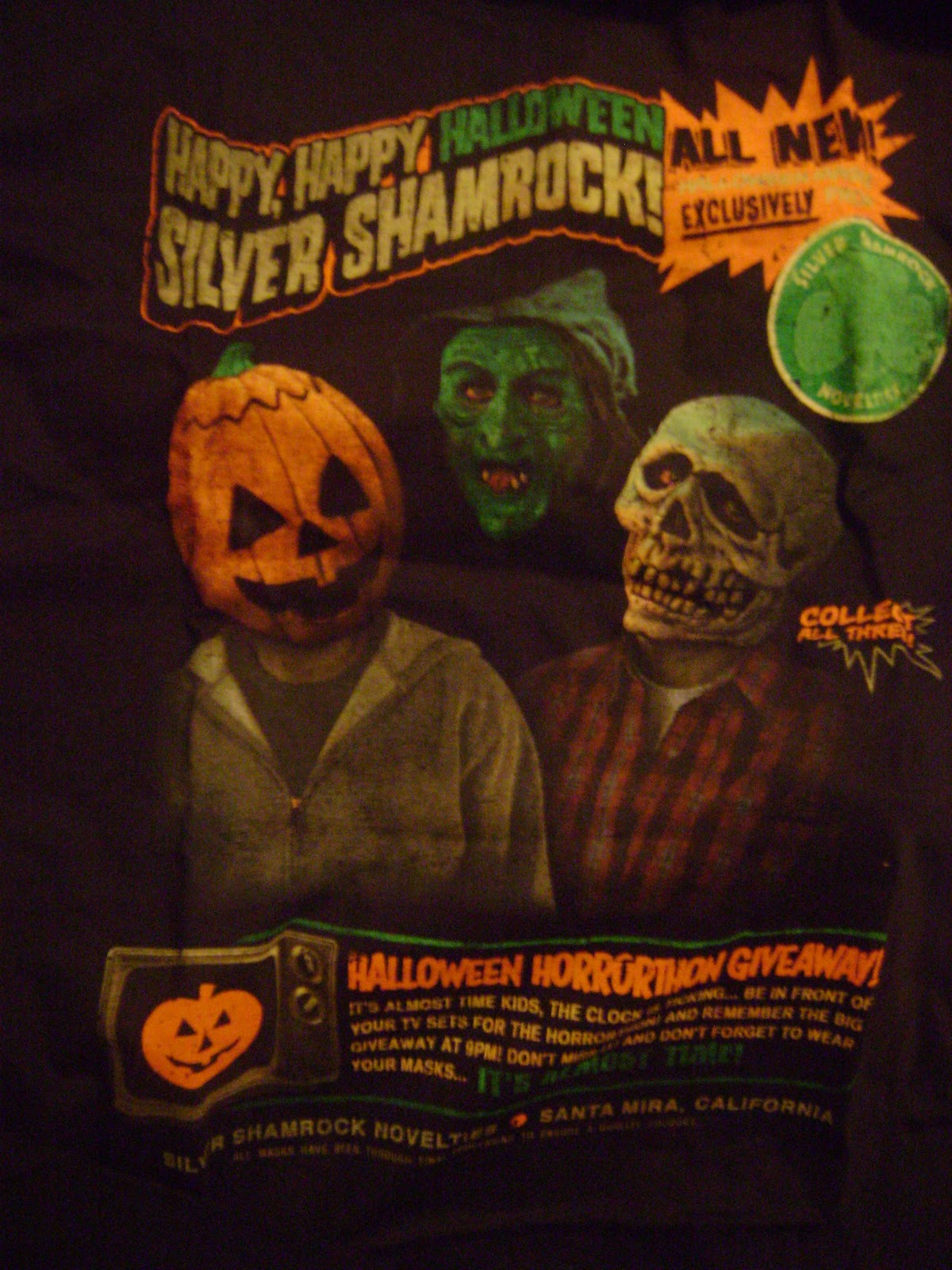 i plan on rocking this wonderful shirt next convention i go to now all i need is that pumpkin maskhumm