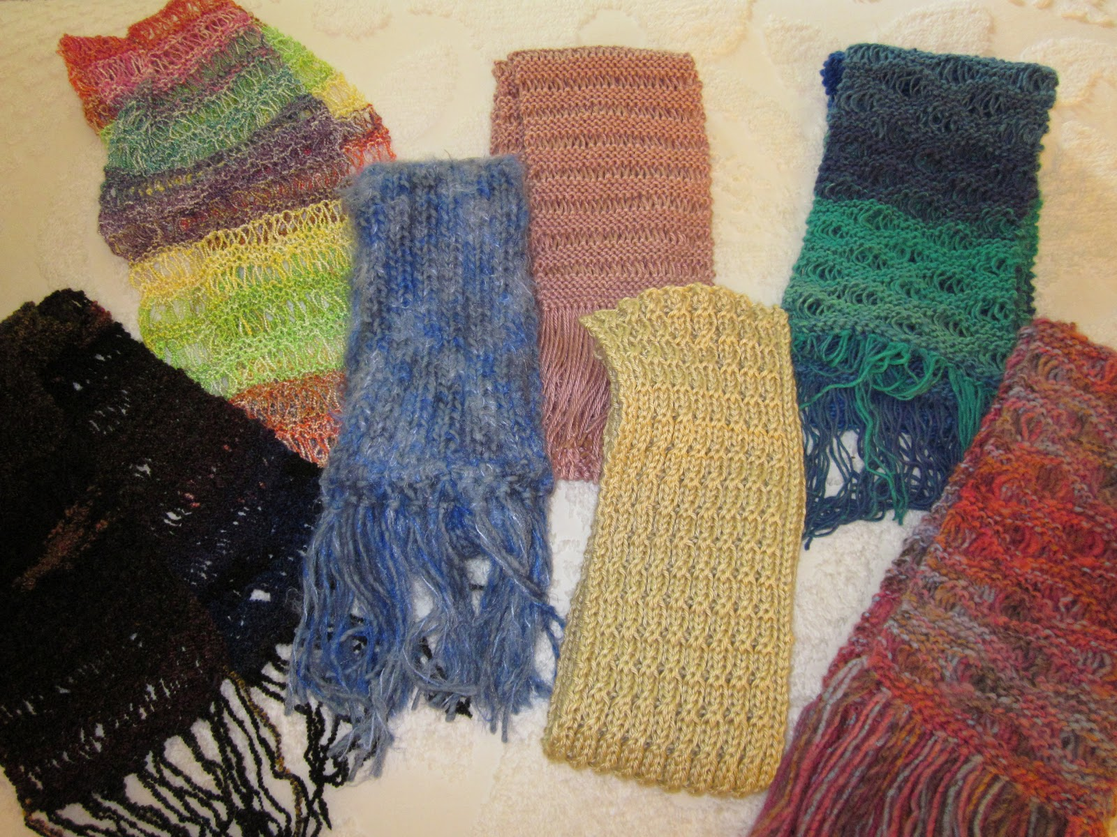 Knitting Scarves For The Homeless : Hot coffee cool jazz december