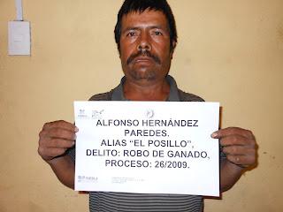 """Va """"El Posillo"""" al presidio"""
