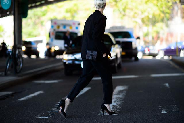 Inspirações do street style nova iorquinho - sapatos
