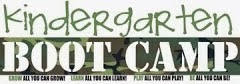 KINDERGARTEN BOOT CAMP:  AN ACADEMY EXCLUSIVE!