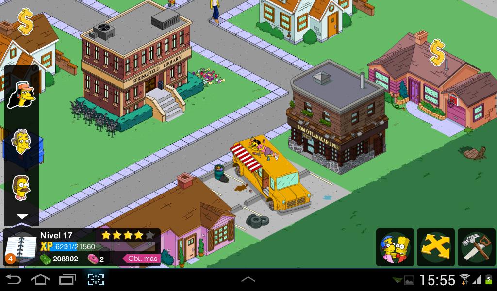 Los Simpson Springfield 4.2.4 [Hack rosquillas gratis] [Sin error
