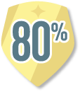 80% reviews completed