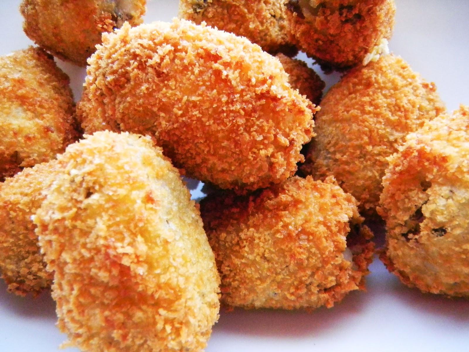 Potato Croquettes - Cherry on my Sundae