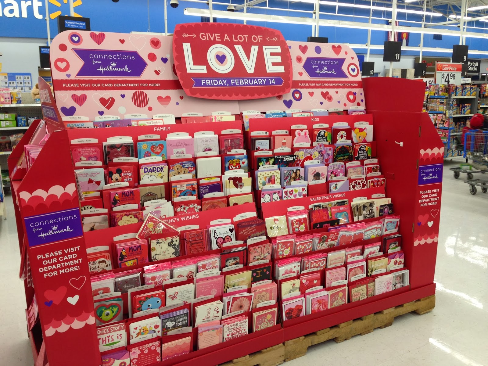 The Diary of a Nouveau Soccer Mom Hallmark at Walmart Perfect – Hallmark Valentine Cards