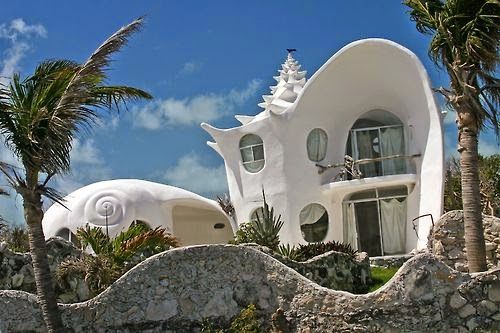 The Conch Shell House - Conch-shell-house