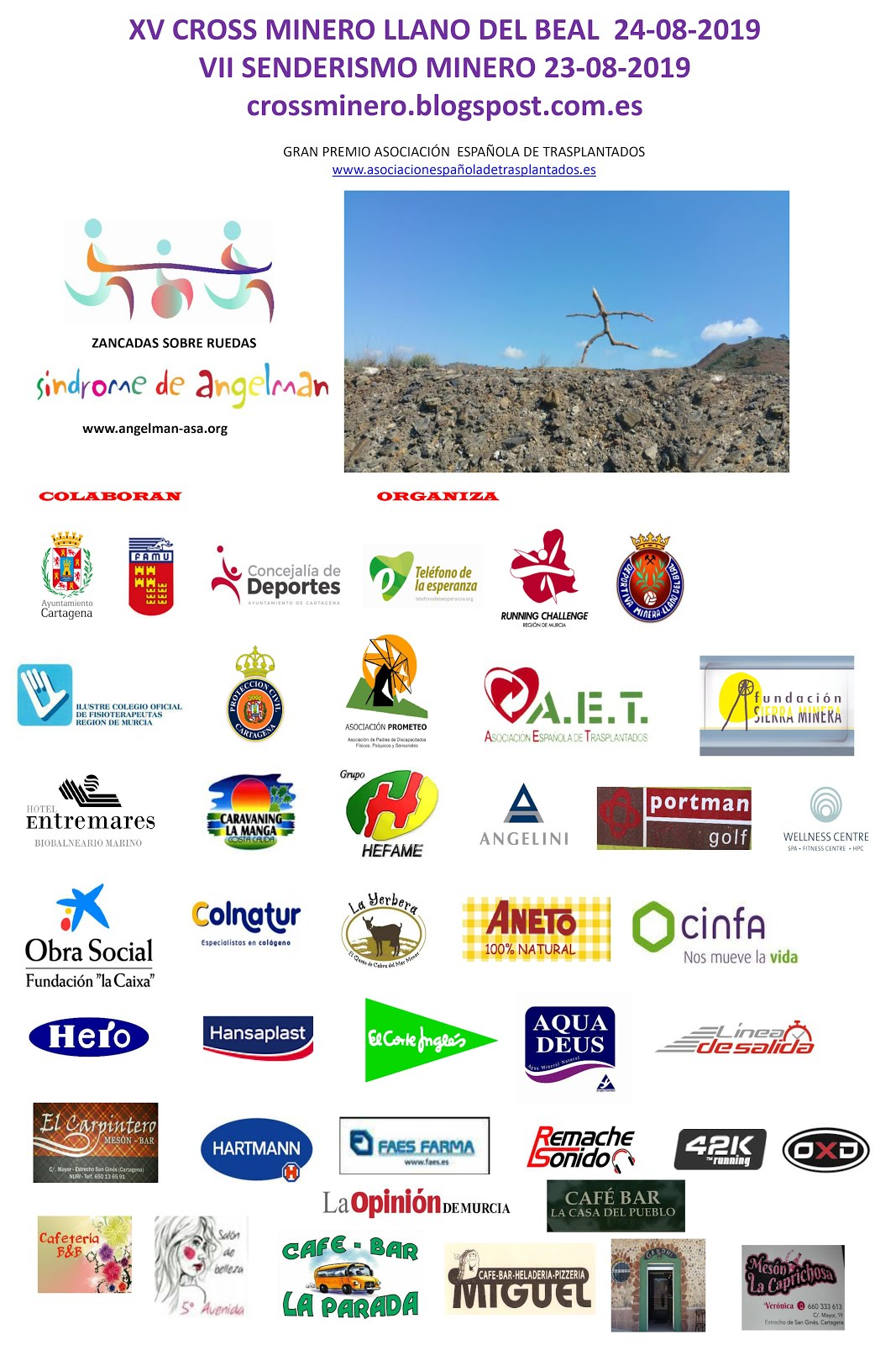 COLABORADORES CROSS MINERO