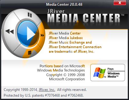 JRiver Media Center 20