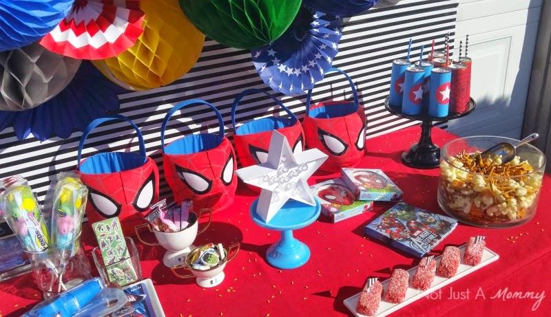 Disney Marvel Easter Egg Hunt table top