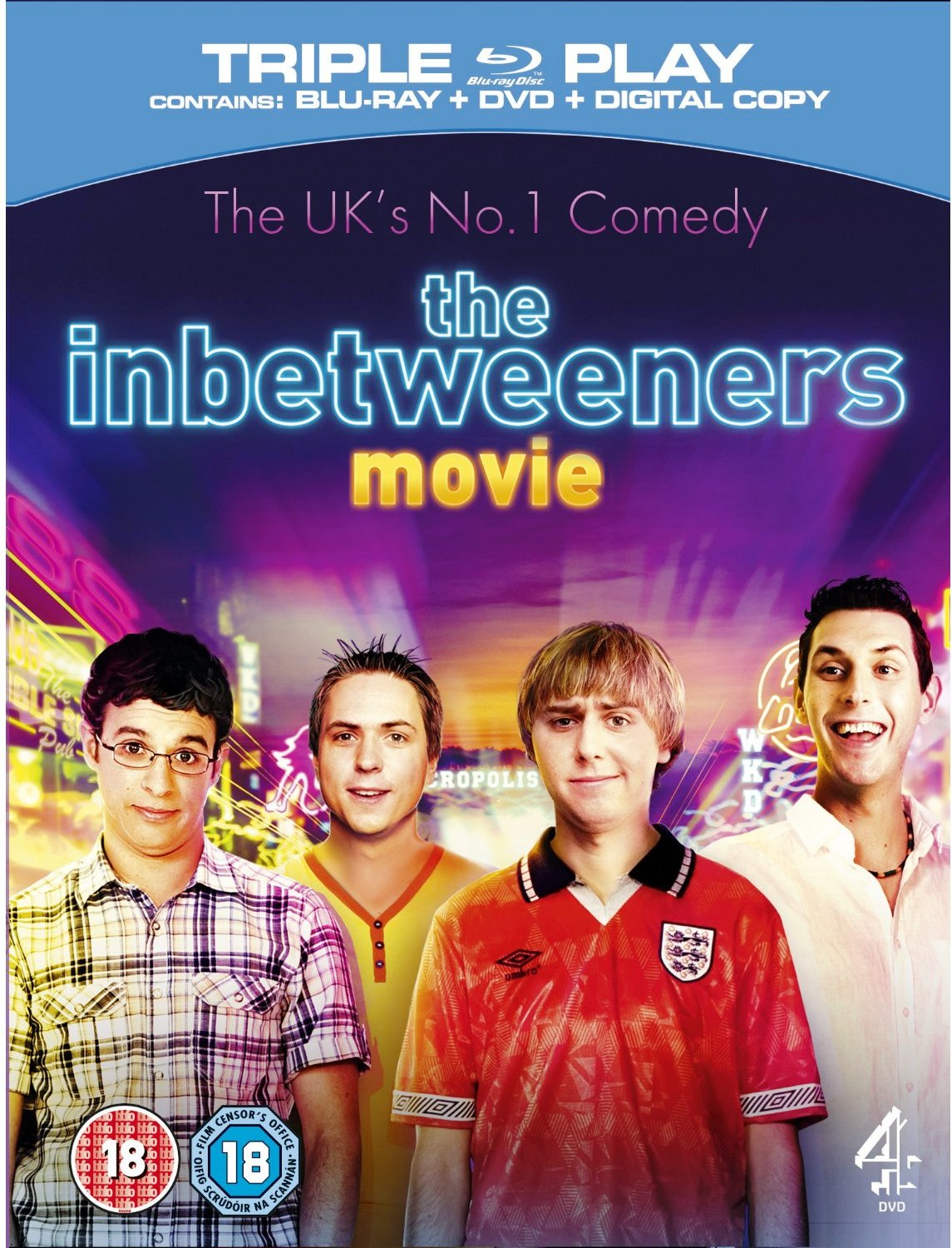 The Inbetweeners (2011) Poster