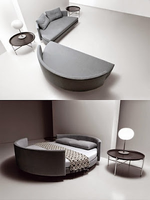 2 in 1 purpose sofa cum bed | space saving furniture