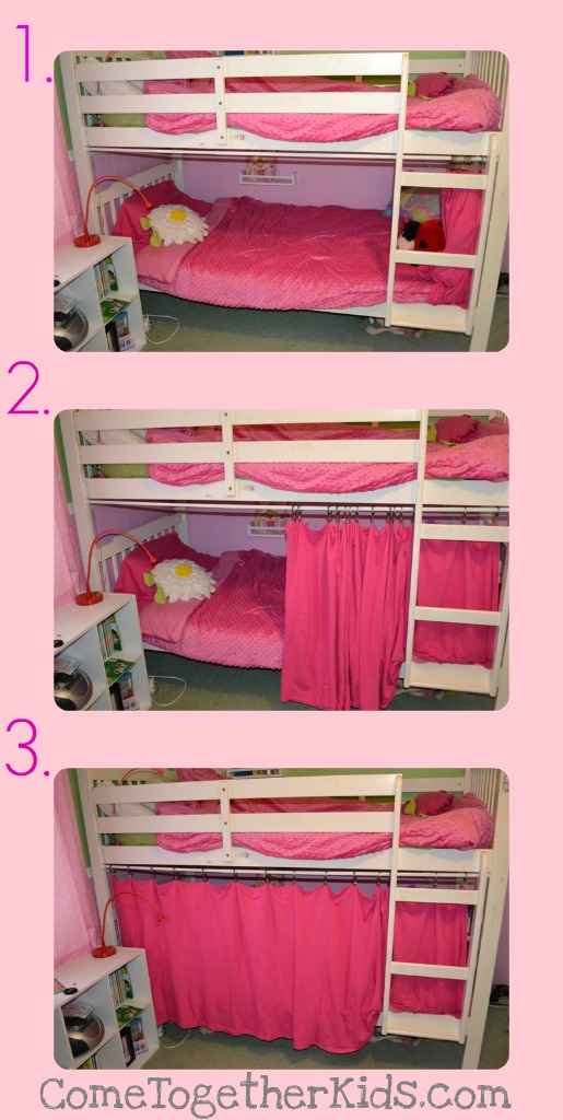 Come Together Kids The 5 Minute No Sew Bottom Bunk Fort