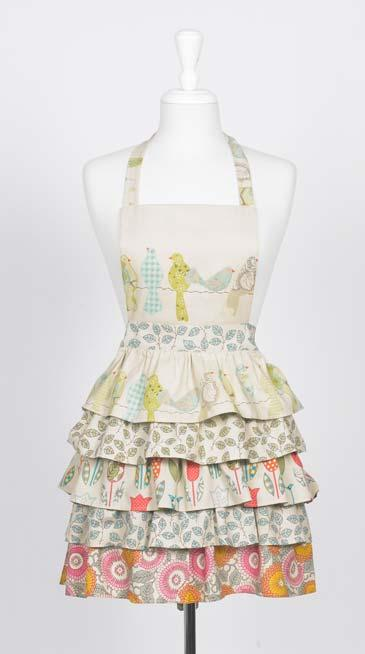 Frilly apron for sex play