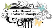I was a Featured Stamper at