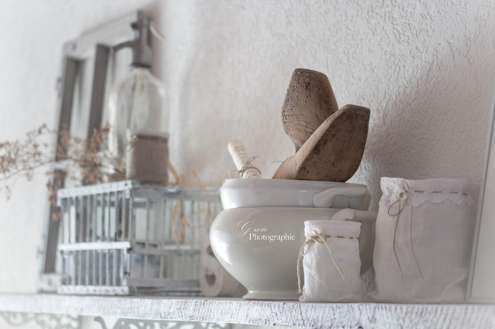 G wie dekoration im januar im vintage stil beitrag for Deko im januar