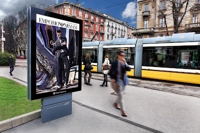 Clear Channel - Italy - Armani