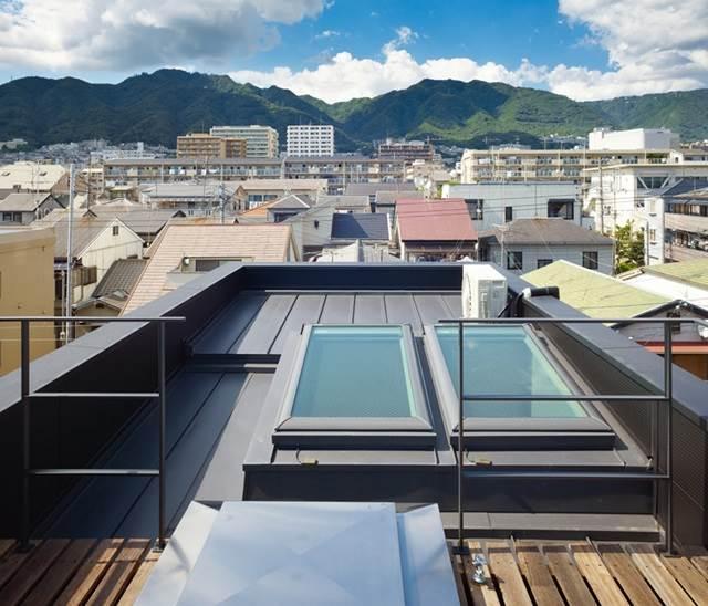 pandangan atas bumbung