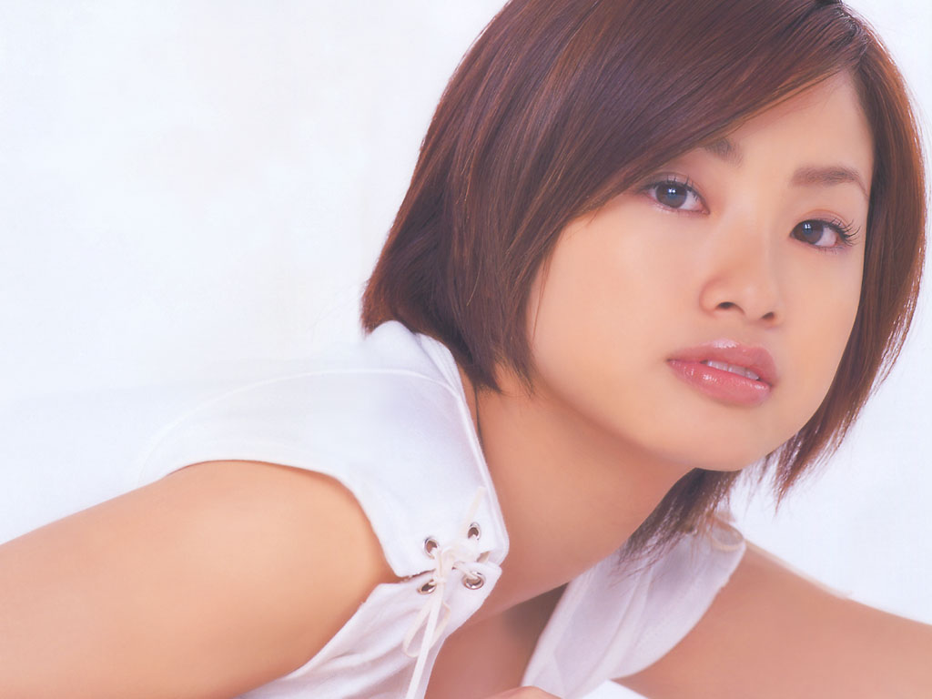 Aya Ueto In White