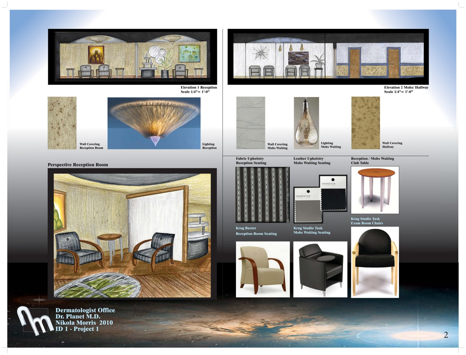 First Real Interior Design Project Dr Planets Dermatologist