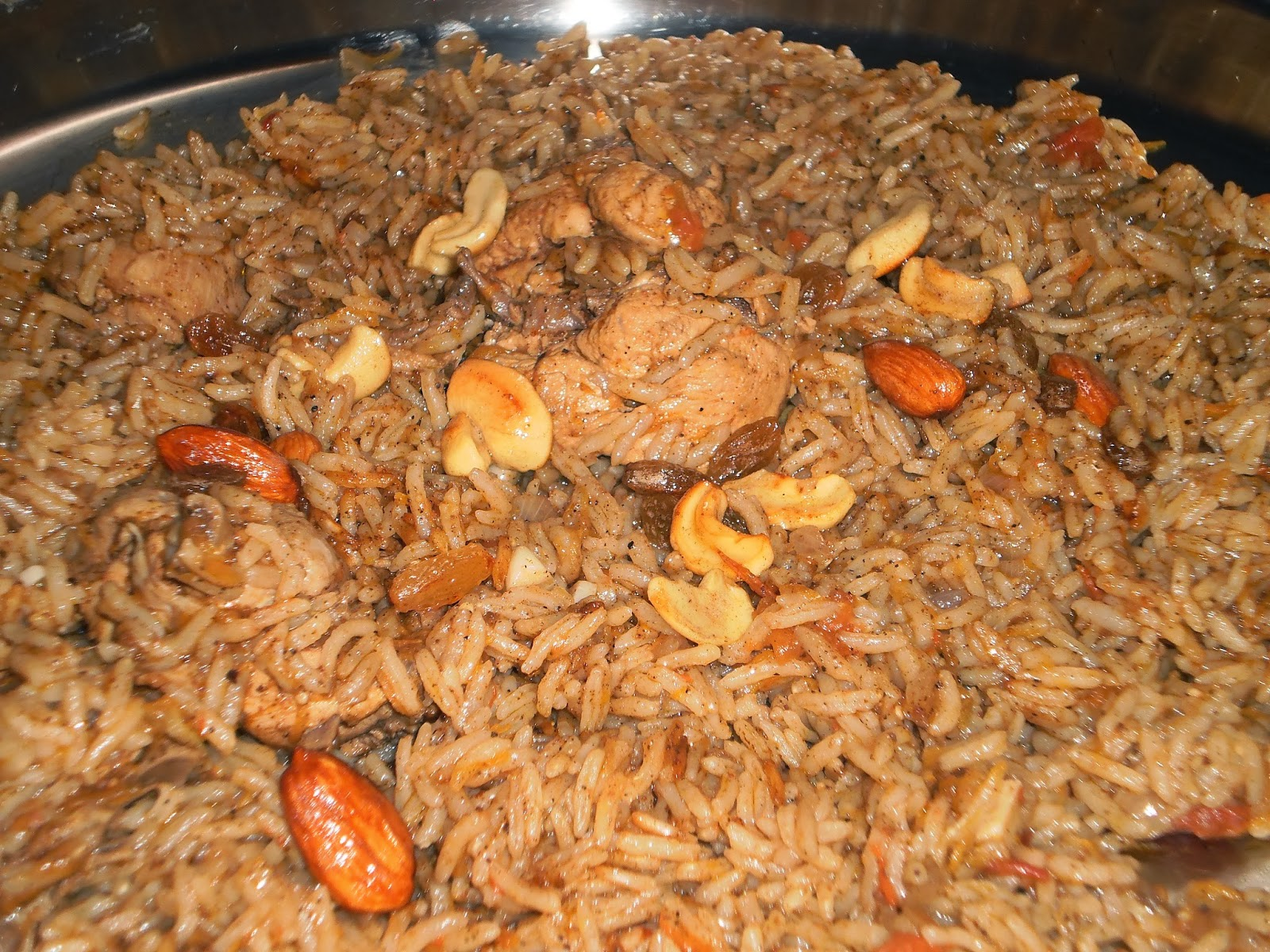 Al Kabsa Is A Famous Traditional Arabian Rice Recipe Prepared With Basmati Red Or White Meat Chicken And Cooked In Tomato Onion Based Sauce