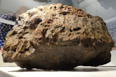 Fragmento del meteorito de Chelyabinsk