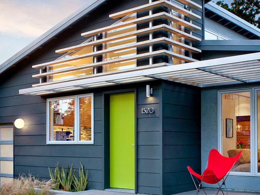 Tips Memilih Warna Rumah Minimalis