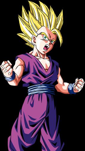 Goku y gohan goku y gohan - Sangohan ado super sayen 3 ...