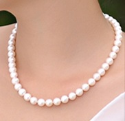 Free pearl necklace for purchase >RM100