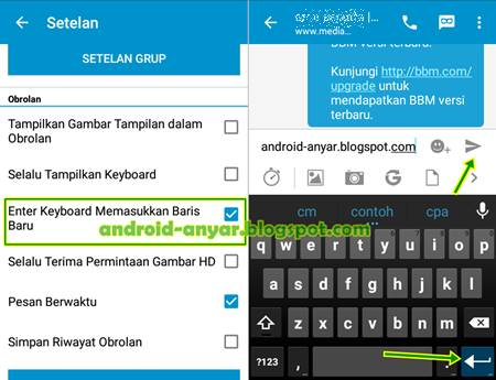 Download BBM 2.9.0.44 APK Enter Key