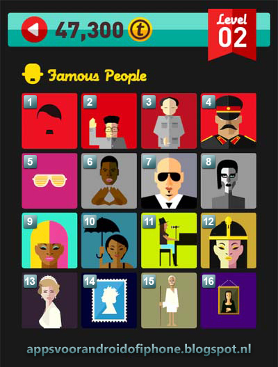 Icon Pop Quiz Level 2 Famous People: cheats, hints, oplossingen en antwoorden