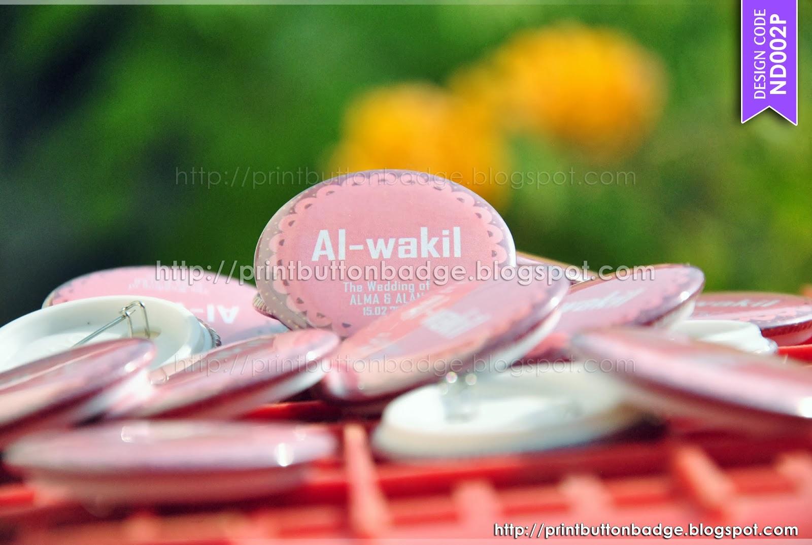 unique wedding button badge