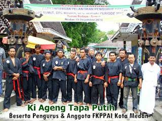 Foto Ki Ageng Tapa Putih & Anggota FKPPAI