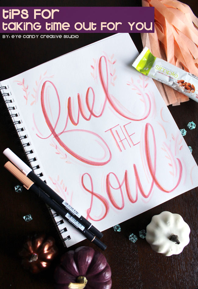 fuel the soul, #FeelGooder, ZonePerfect, tips for taking time out for you