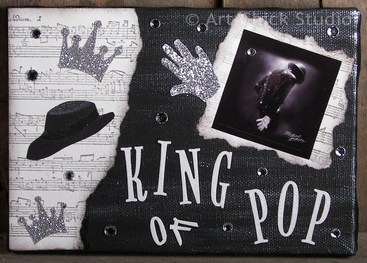 King of Pop Michael Jackson Art