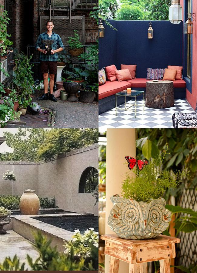 Pehache pehache deco patios urbanos for Decoracion jardin grande