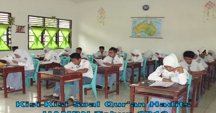 Kisi Kisi Soal Al Qur An Hadits Uambn Mi Mts Dan Ma Tahun Pelajaran 2012 2013