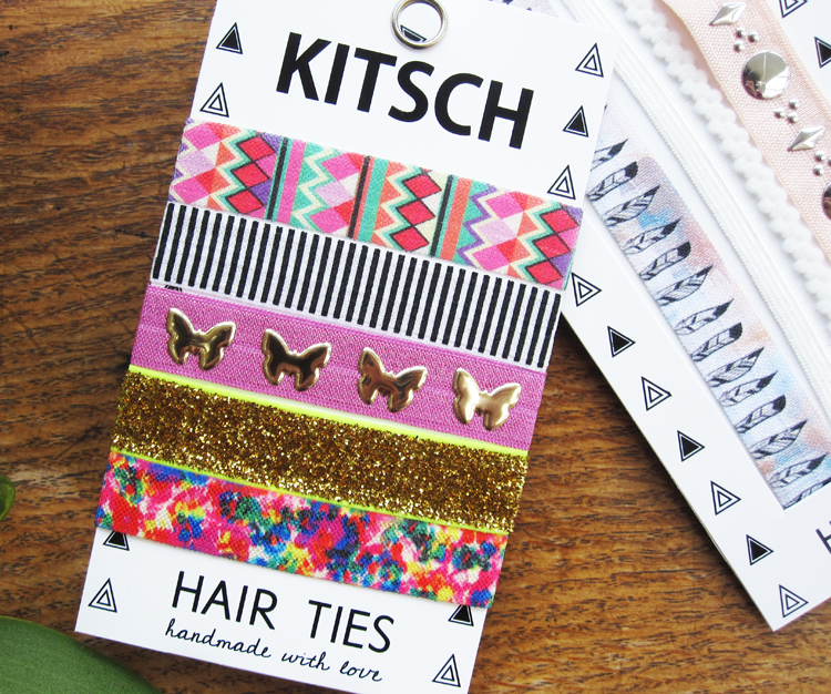 KITSCH Dreamcatcher Headbands and Wonderland Hair Ties review
