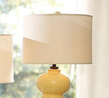 table lamp linen drum lamp shade. Black Bedroom Furniture Sets. Home Design Ideas
