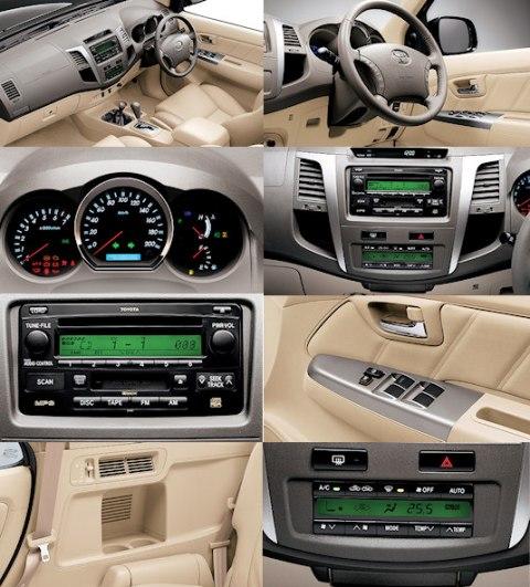 Interior Mobil Toyota Fortuner