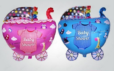 Balon Foil Baby Stroller