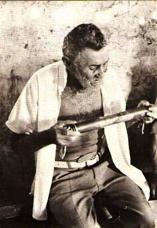 Museu do Agreste Potiguar: CHICO ANTÔNIO: O MESTRE DO GANZÁ.