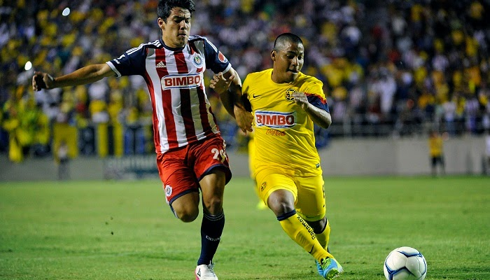 Chivas de Guadalajara vs America en vivo