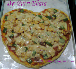 homemade pizza oatmeal