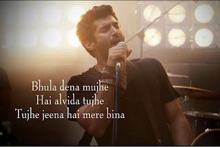 Aashiqui 2 Song Bhula dena wordings