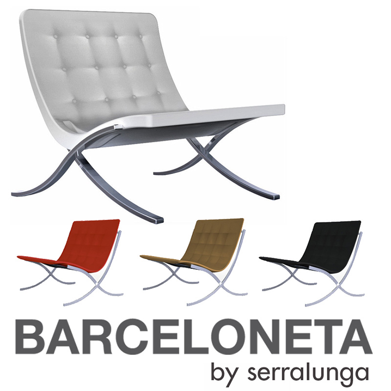 if it s hip it s here archives classic barcelona chair gets rh ifitshipitshere blogspot com barcelona outdoor furniture cushions barcelona garden furniture