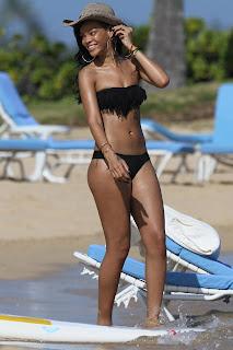 Rihanna Black Bikini, Rihanna Hawaii