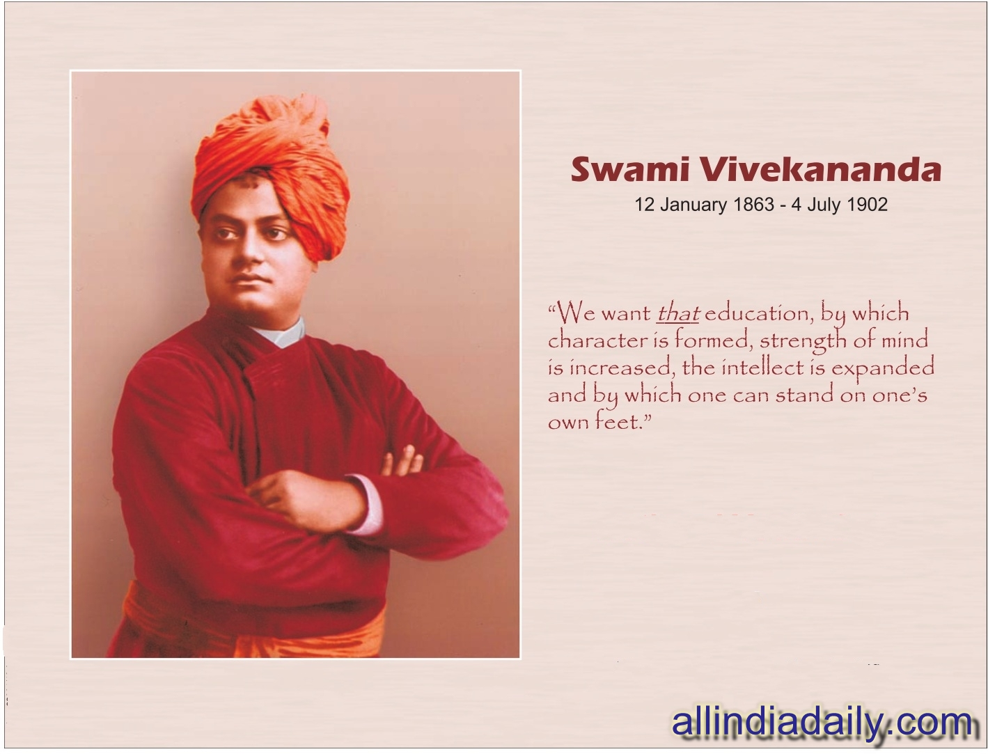 Quotes Vivekananda Nimma  Girish Swami Vivekananda's Biography Quotes And Wallpapers
