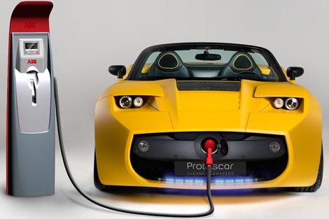 Recarga de vehículo eléctrico