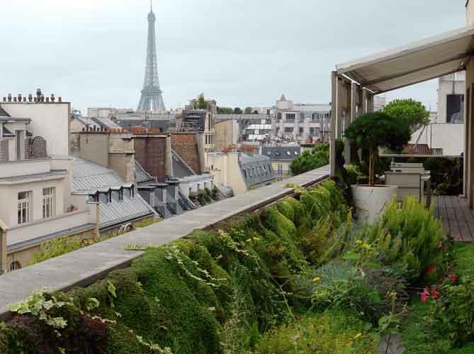 Estilo rustico nuevas terrazas rusticas - Terrasse sur les toits de paris ...